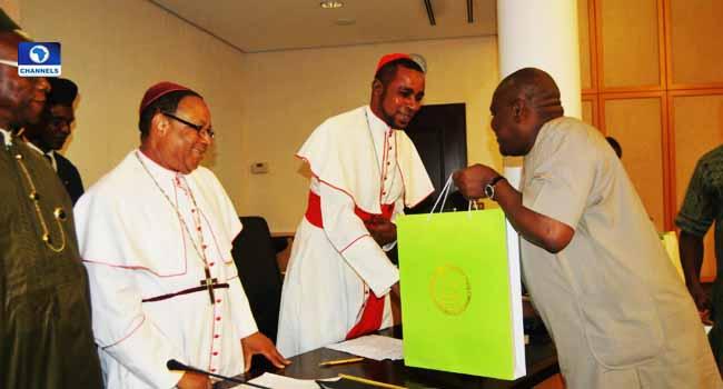Wike Receives Methodist Church Of Cameroon Bishop, Lauds Leadership