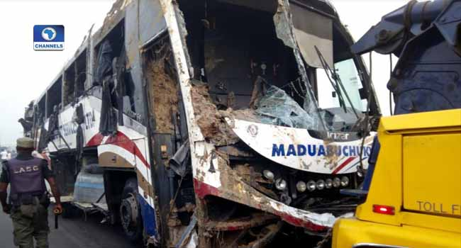 Three Dead As Bus Plunges Into River