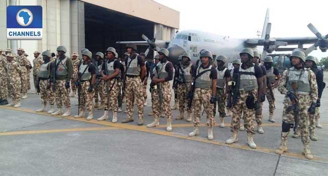200 Nigerian Air Force Men Return From Gambia