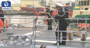 French Naval Ship Visits Nigeria