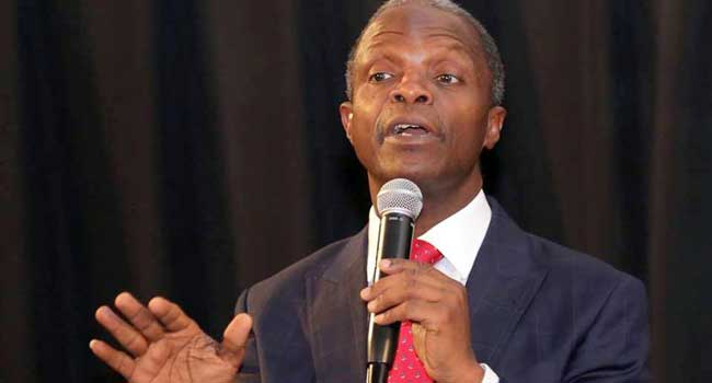 Osinbajo Asks Nigerians To Love, Support One Another