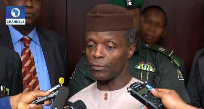 Osinbajo Meets With Rice Task Force