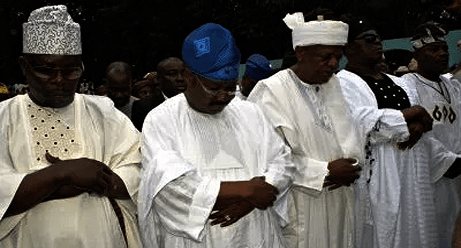Oyo Governor Conducts Prayers For Nigeria, Buhari