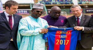 FC Barcelona Officially Lauches Soccer Academy In Lagos