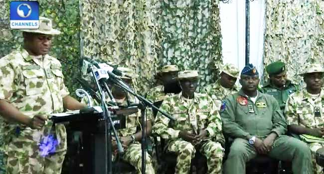 Army Says Mop-Up Operations Are Yielding Positive Results