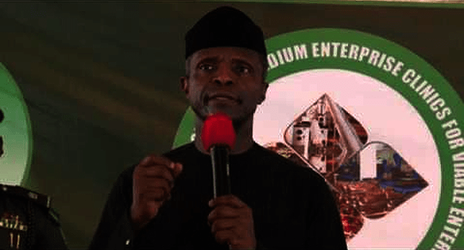 Osinbajo To Launch MSME Clinic In Kwara