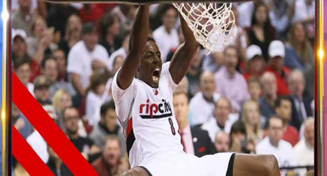 Aminu Nets Eight Points In Blazers Win