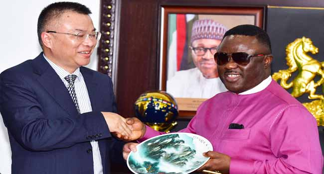 Chinese Firm Seeks To Establish Headquaters In Calabar