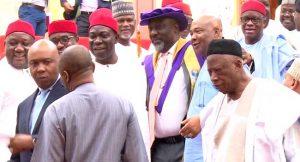 Dino Melaye Storms Senate In Academic Gown