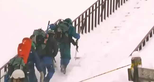 Eight School Children Killed In Japanese Avalanche