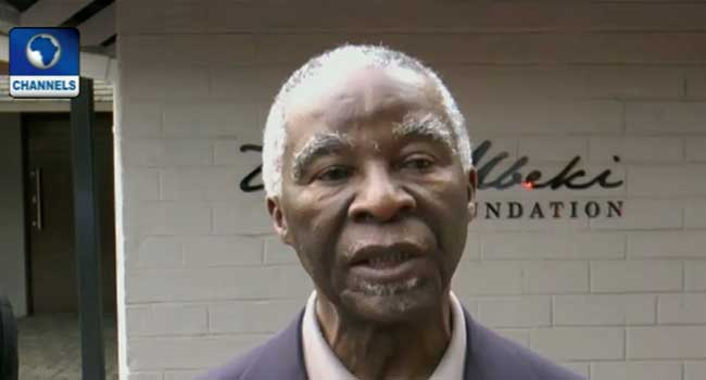 Xenophobia: Nigerian Lawmakers Meet With Former President Mbeki