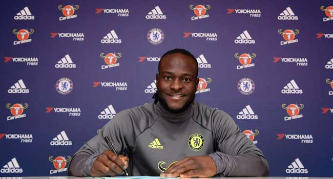 Moses Extends Chelsea Contract Until 2021