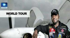 Nigerian Pilot Completes World Tour