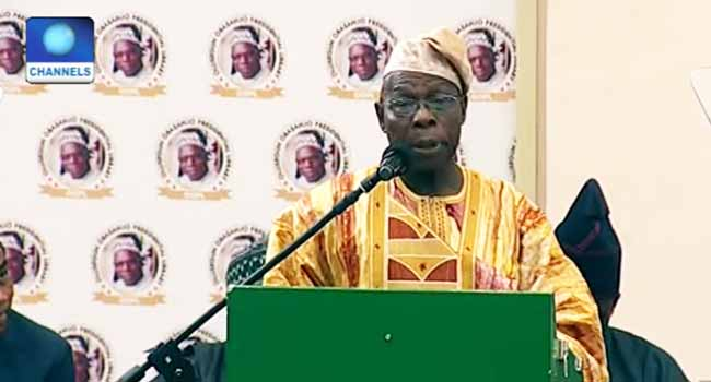 Obasanjo Tasks Foreign Nationals On Symbiotic Business Relations