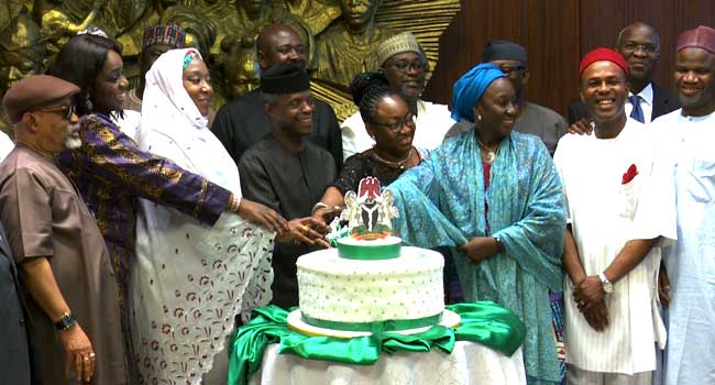 FEC Celebrates Acting President Osinbajo At 60