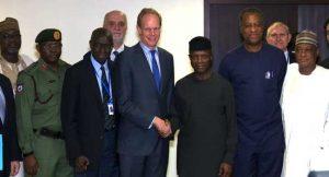 UN Security Council Meets With Osinbajo