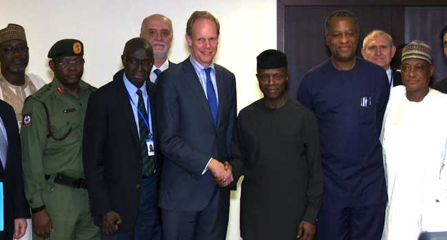 UN Security Council Meets With Osinbajo
