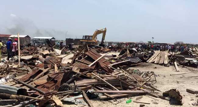 Residents Cry Out Over Demolition Of Settlement In Lagos