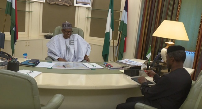 Buhari Resumes, Sends Letter Of Resumption To NASS