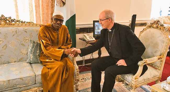 Archbishop Of Canterbury Visits President Buhari