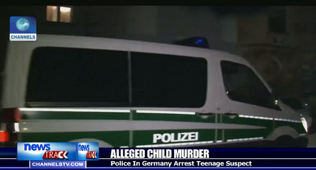 German Police Arrest Teenage Suspect Murder