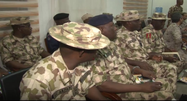 officers of the Nigerian Army