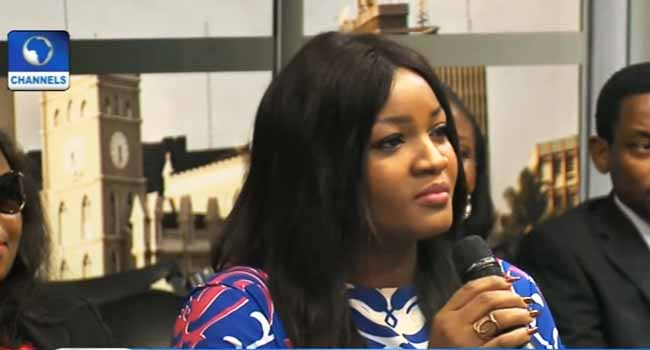 Twitter Storm As Omotola Blasts Buhari's Administration Over Performance