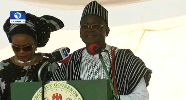 Governor Ortom Urges Indigenes To Be Law-Abiding, Seeks Peace