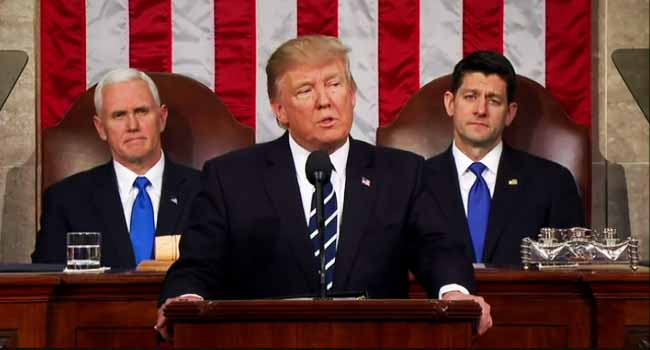Trump Promises 'Renewal Of American Spirit' In Speech To Congress