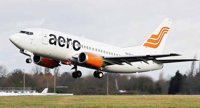 Aero Contractors Explains Smoke In PH-Lagos Flight