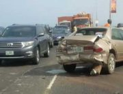Several Injured In Third Mainland Bridge Accident
