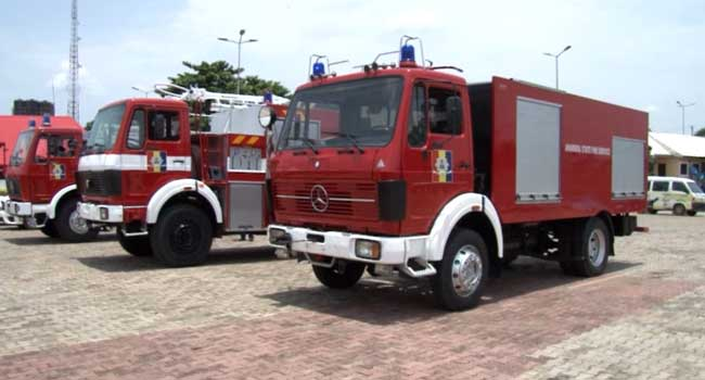 Obiano Upgrades Fire Service In Anambra