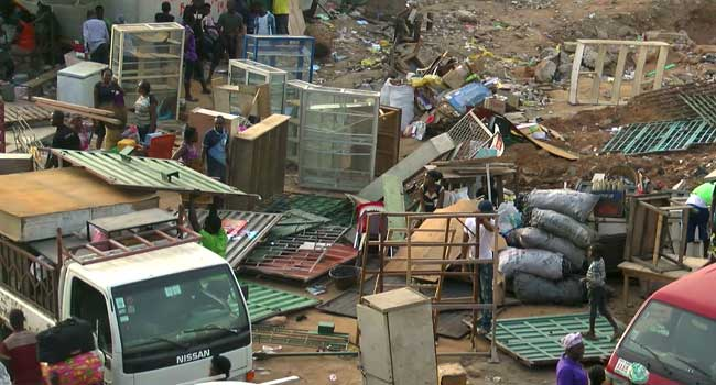 Berger Traders Rendered Helpless As Govt. Demolishes Shops