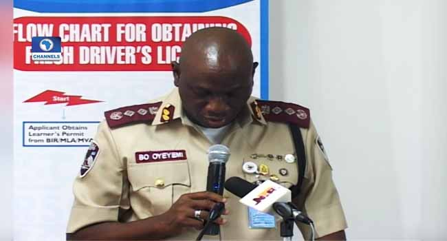 FRSC Launches Online Portal To Check Fake Licences