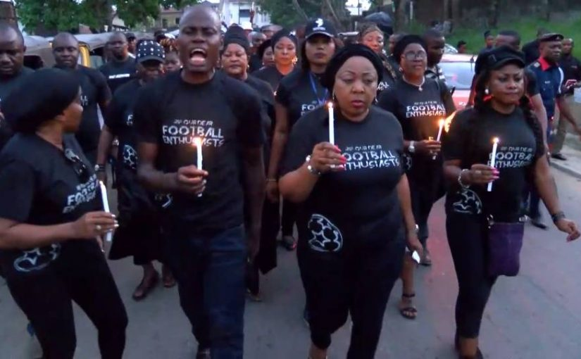 Calabar Tragedy: Ita-Giwa Leads Procession In Honour Of Victims