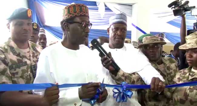 Image result for Cancer Screening Centre in Maiduguri