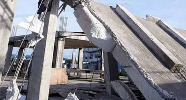 Indoor Sports Hall Collapses In Calabar