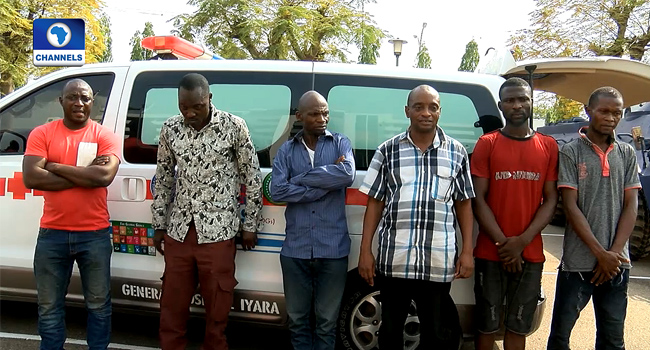 Attack on Melaye: Police parade council chairman, suspected assassins