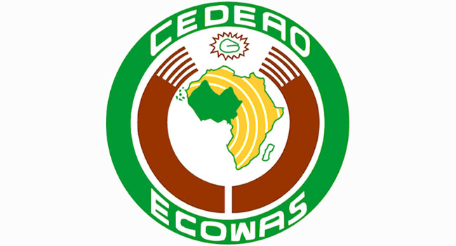 The representatives are from the 15-nation Economic Community of West African States (ECOWAS)