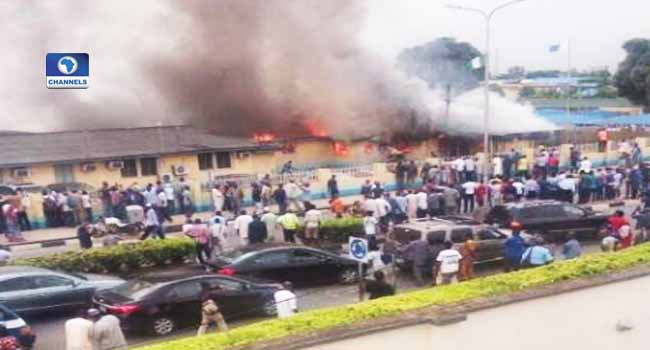 FAAN Headquarters Gutted By Fire