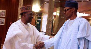 Yakubu Gowon Visits Muhammadu Buhari At The Villa
