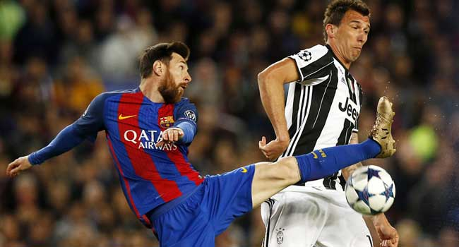 Juventus Edge Barcelona From Champions League After Goalless Draw