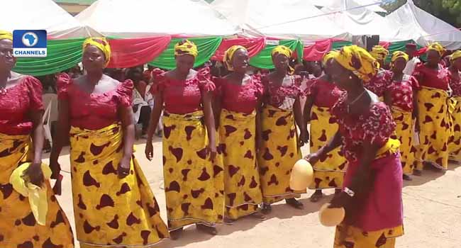 Michika Residents Celebrate Defeat Of Boko Haram