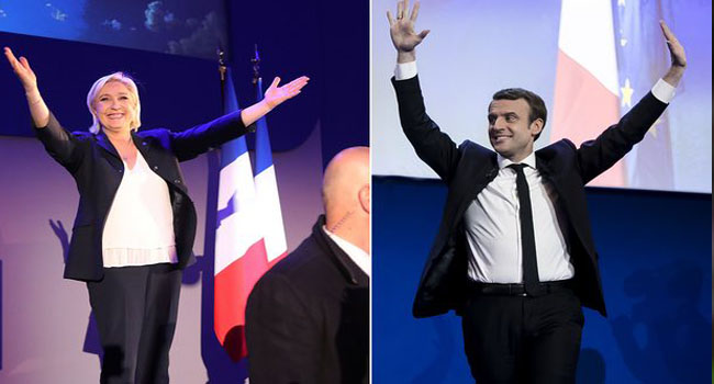 French Elections: Voters Decide Between Macron And Le Pen