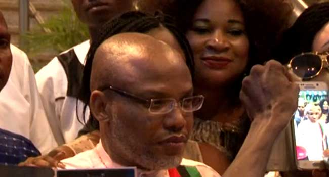 Nnamdi Kanu's trial adjourned to Oct 17