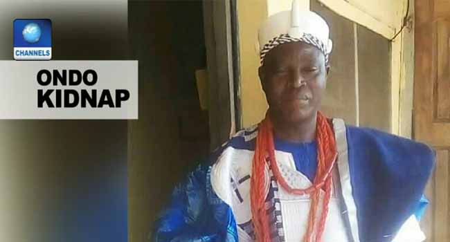 Traditional Ruler Abducted In Ondo State