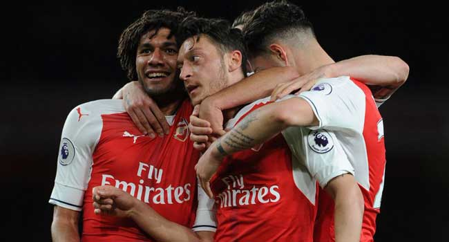 Arsenal Boost Champions League Hope With West Ham Victory