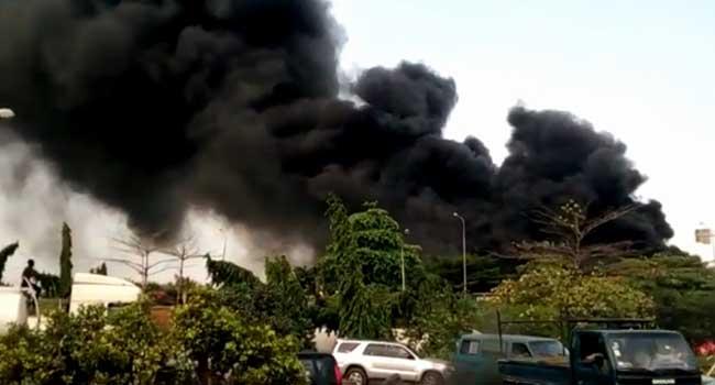Diesel Tanker Explodes Along Oshodi-Apapa Expressway
