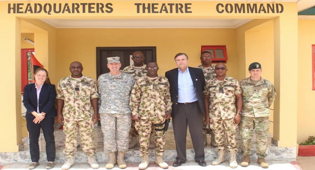 US Ambassador Commends Military's Counter Insurgency Efforts