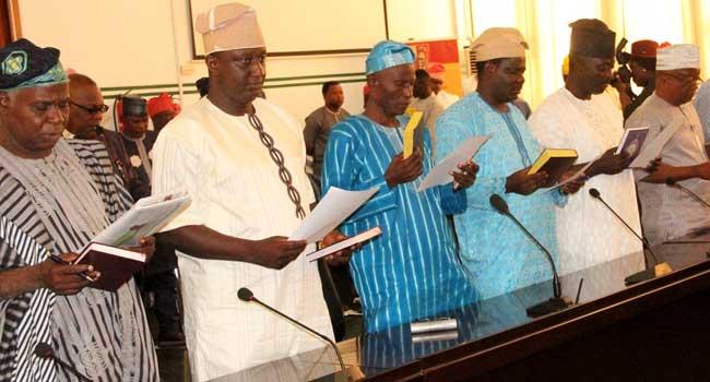 Ajimobi Inaugurates New Caretaker Chairmen In Oyo